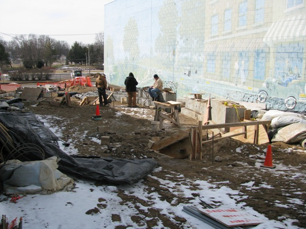 Mural-Mall-construction-site-February-18-2013